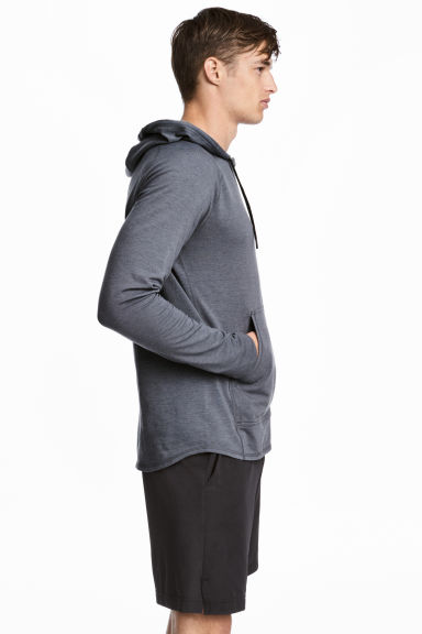 Hooded Sports Shirt Model