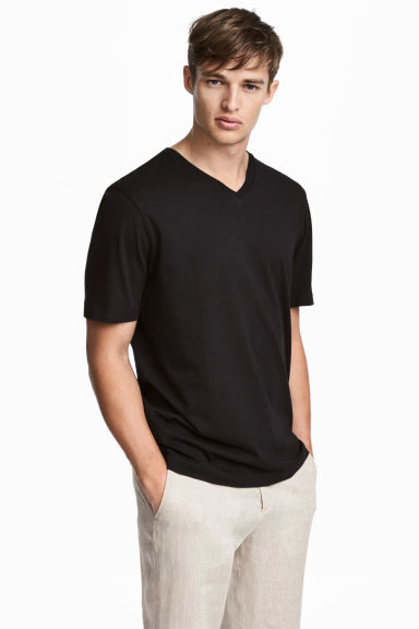 3-pack T-shirts Regular fit - Black - Men | H&M