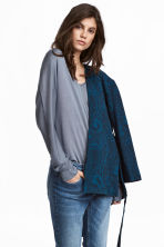 Fine-knit jumper - Blue-grey - Ladies | H&M CA 1