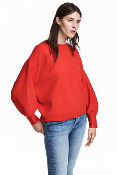 Fine-knit jumper Model