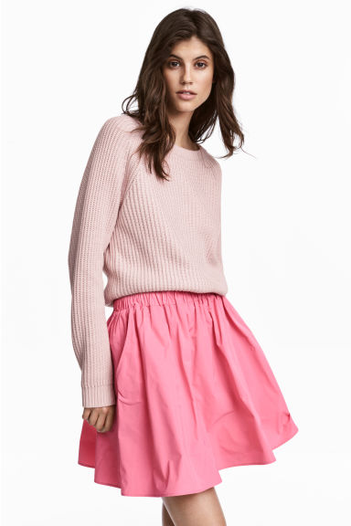 Ribbed jumper - Light pink - Ladies | H&M CA 1