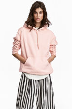 Hooded top - Powder pink - Ladies | H&M CA 1