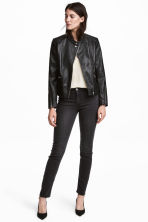 Superstretchbroek - Nearly black - DAMES | H&M BE 1