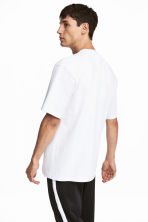 Rundhalsad t-shirt Loose fit - Vit - Men | H&M FI 1
