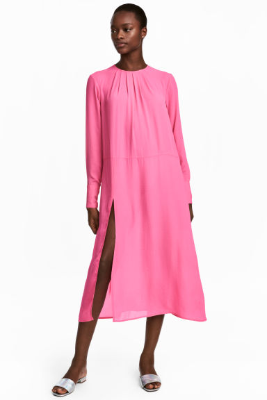 Wide dress - Pink - Ladies | H&M IE