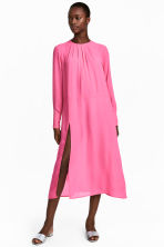 Wide dress - Pink - Ladies | H&M CN 1