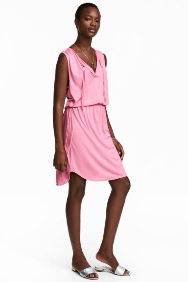 Jersey dress - Pink - Ladies | H&M CA 1