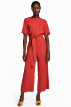 Jumpsuit - Red - Ladies | H&M 1