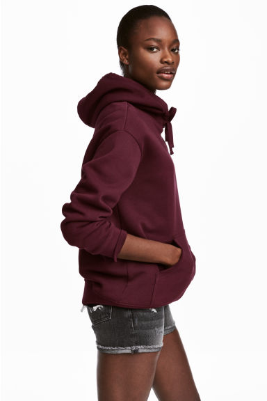 Hooded top - Plum - Ladies | H&M CN 1