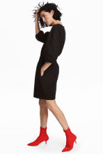 Dolman-sleeved dress - Black - Ladies | H&M 1