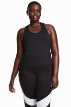 H&M+ Sports Tank Top - Black - Ladies | H&M CA 1