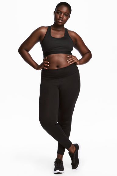 H&M+ Sports tights - Black - Ladies | H&M IE 1