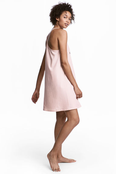 Jersey nightslip - Light pink - Ladies | H&M 1