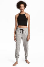 睡褲 - Light grey marl - Ladies | H&M 1