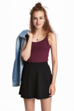 Jersey vest top - Plum - Ladies | H&M 1