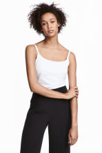 MAMA 2-pack nursing tops - White/Black - Ladies | H&M GB 1