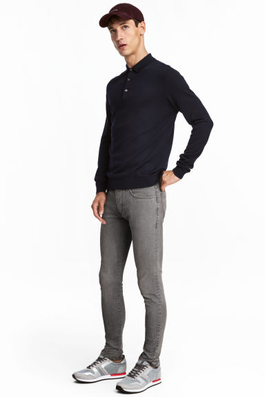 Skinny Low Jeans - Denim grigio - UOMO | H&M IT 1
