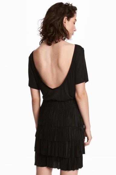 Top con scollatura dietro - Nero - DONNA | H&M IT 1
