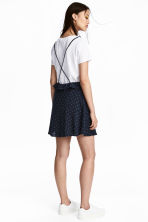 Spotted dress - Dark blue/Spotted - Ladies | H&M 1