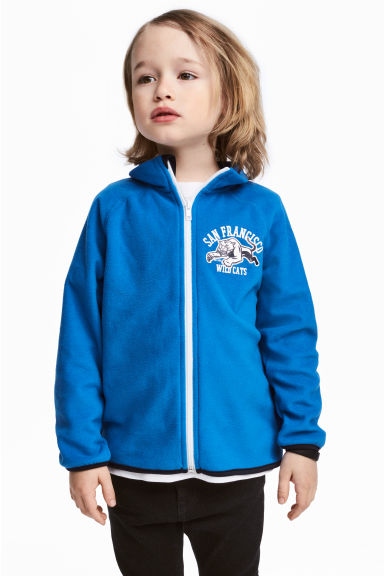 Fleece vest - Korenblauw - KINDEREN | H&M BE 1