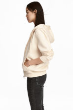 Hooded jacket - Light beige - Ladies | H&M 1