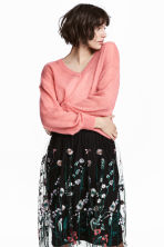 Wool-blend jumper - Pink - Ladies | H&M CN 1