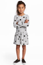 2-pack jersey dresses - Grey/Stars -  | H&M 1