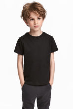 3-pack T-shirts - Red/Black - Kids | H&M 1