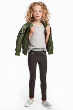 Treggings - Dark grey marl - Kids | H&M CN 1