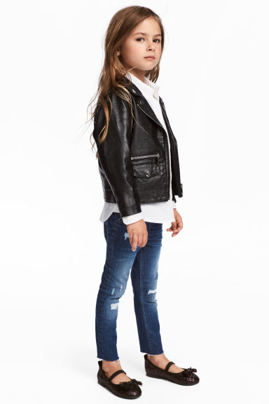 Denimleggings - Denimblå - Kids | H&M FI 1