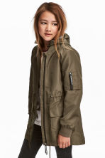 軍外套 - Khaki green - Kids | H&M 1