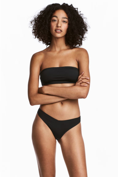 High leg bikini bottoms - Black -  | H&M CN 1