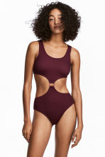 Swimsuit - Dark plum - Ladies | H&M 1