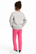 Twill trousers - Cerise - Kids | H&M CA 1