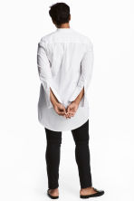 H&M+ Long shirt - White - Ladies | H&M 1