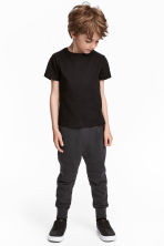 Joggers - Black - Kids | H&M 1