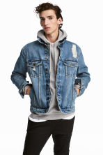 Denim jacket - Denim blue - Men | H&M 1