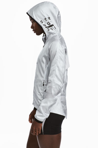 Light running jacket - Silver - Ladies | H&M GB