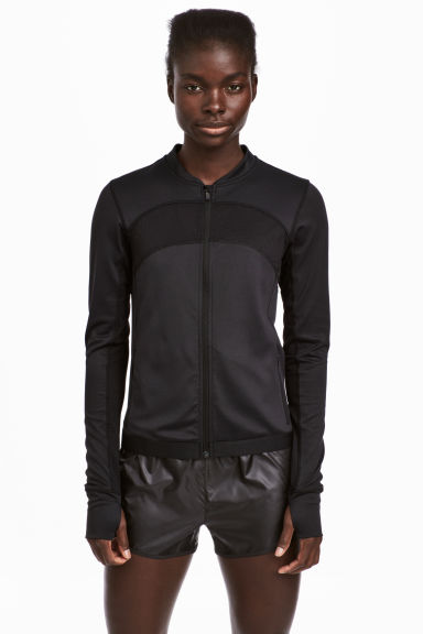 Running jacket - Black - Ladies | H&M 1
