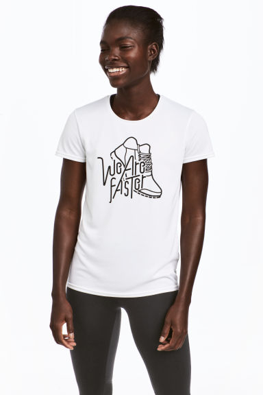 Loopshirt - Wit - DAMES | H&M BE 1