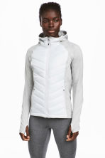 Padded outdoor jacket - Light grey - Ladies | H&M 1
