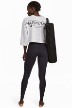 Yoga tights - Black - Ladies | H&M IE 1