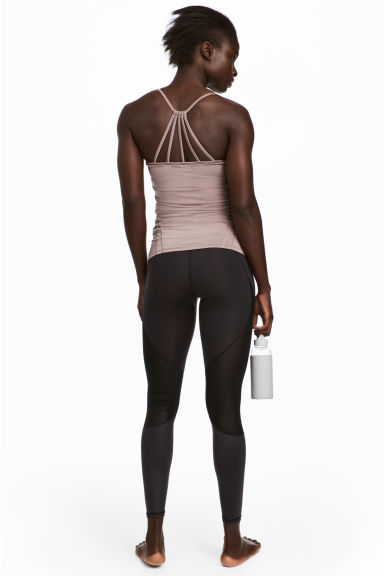 Yoga tights - Black - Ladies | H&M CN 1
