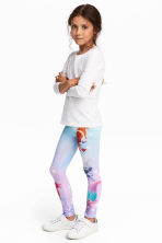 Jersey leggings - Purple/Trolls -  | H&M 1