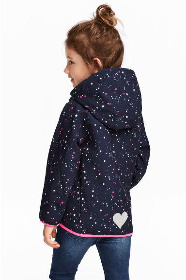 Softshell jacket - Dark blue/Stars -  | H&M 1