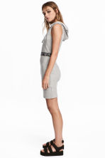 Hooded dress - Grey marl - Ladies | H&M CN 1
