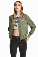Bomber jacket - Khaki green - Ladies | H&M 1