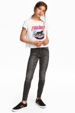 Superstretch Skinny Fit Jeans - 深灰色/豹紋 - Kids | H&M 1