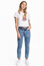 Vintage High Ankle Jeans - Denim blue - Ladies | H&M CA 1