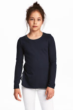 2-pack tops - Light pink/Dark blue -  | H&M 1